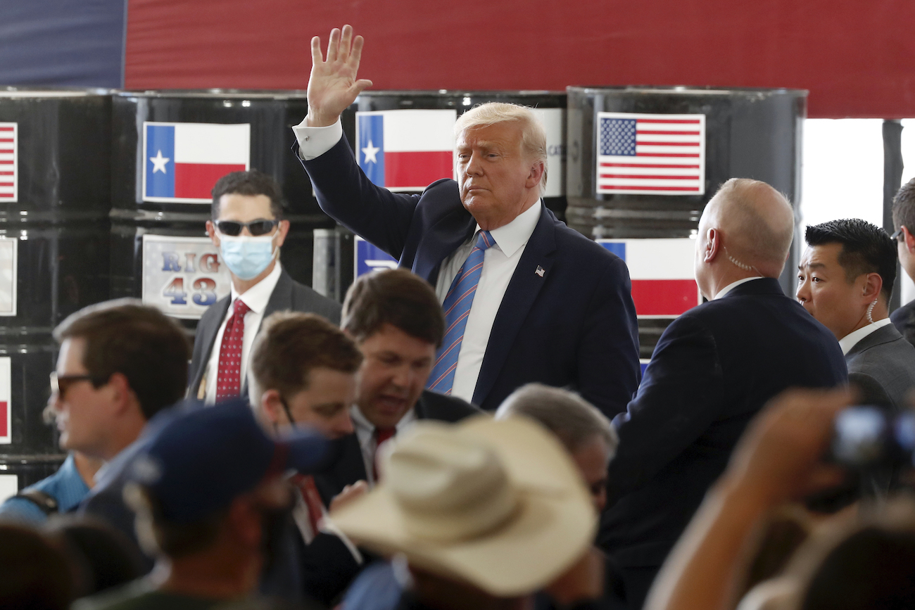 Donald J. Trump in Texas