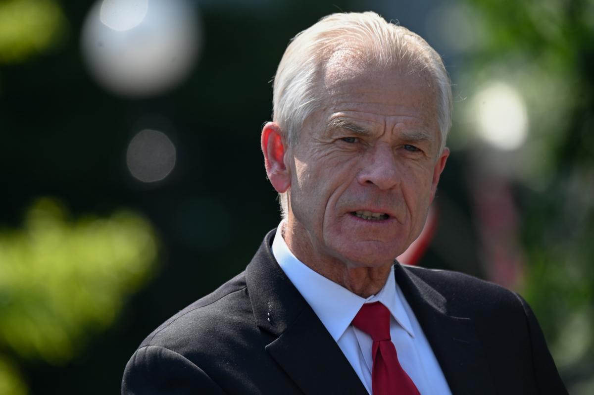 White House adviser Peter Navarro