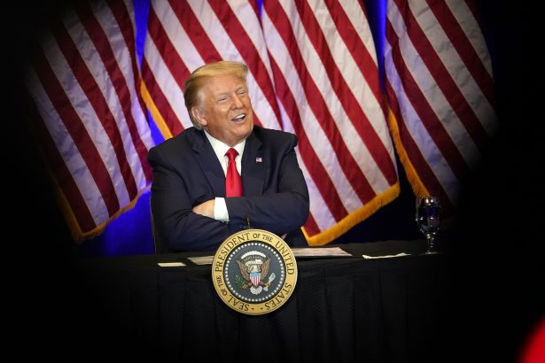 President Trump attends the Latinos