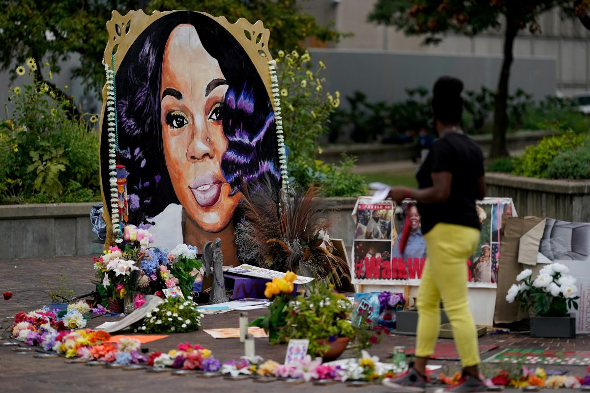 Memorial for Breonna Taylor