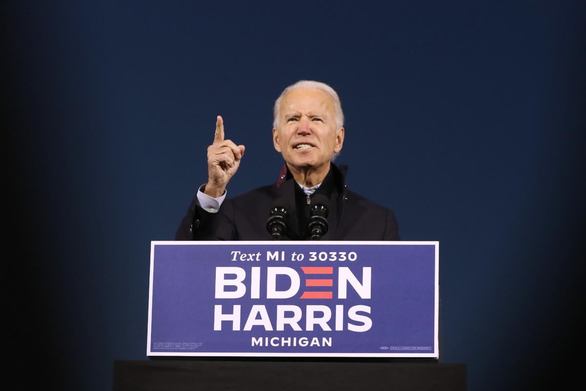 Joe Biden rally