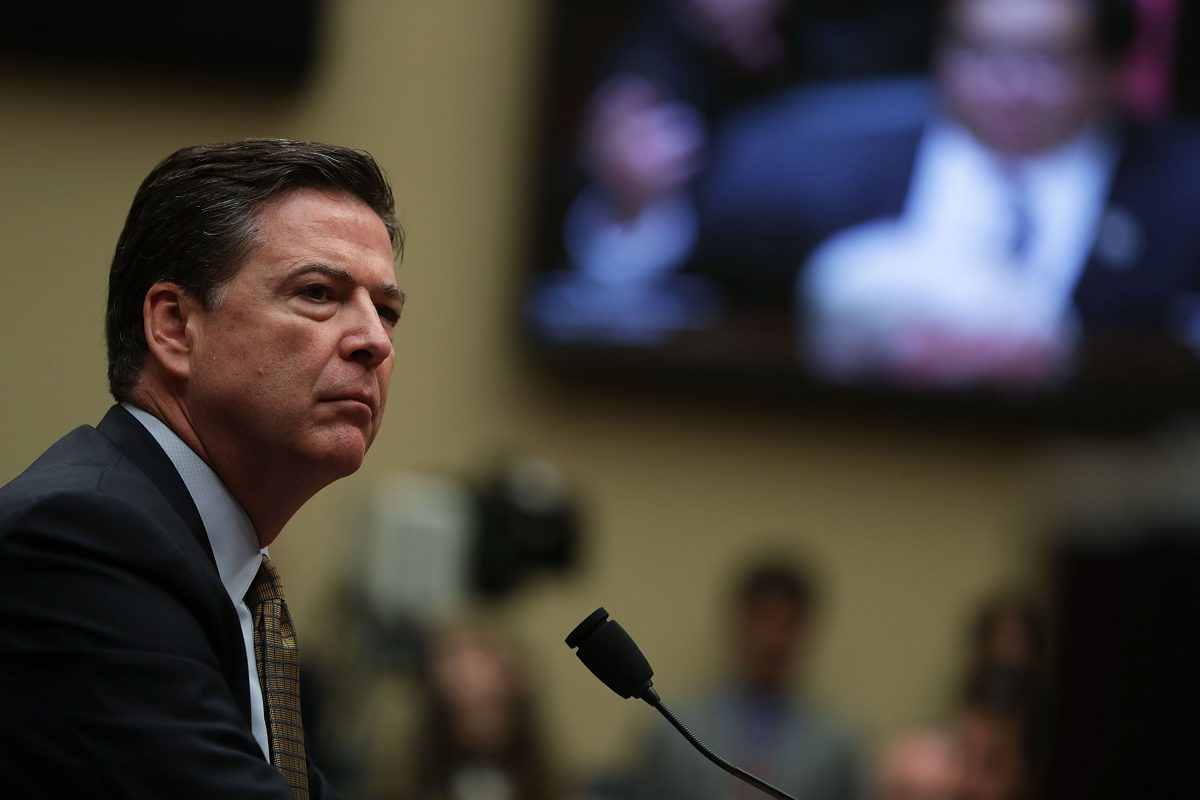 FBI Director James Comey before House Oversight and Government Reform Committee on Capitol Hill