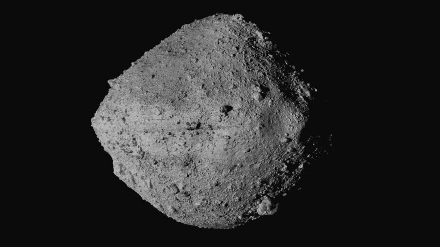 US Spacecraft Touches Asteroid Surface for Rare Rubble Grab